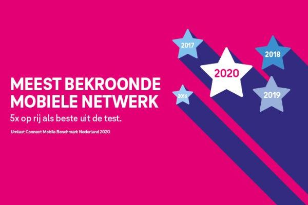 T-Mobile wint de Umlaut Connect test van 2020/2021